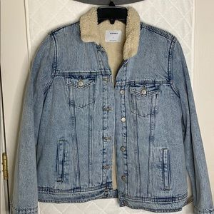 Denim/ Jean Lined Jacket